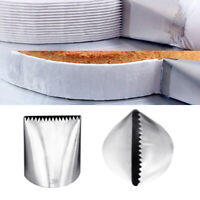 Extra Large Icing Piping Nozzle Cake Decorating Pastry Tip Fondant Cake DIY Mffc