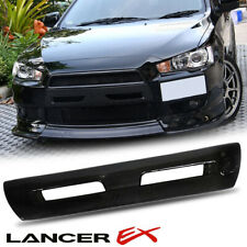 CARBON FIBER FRONT BUMPER COVER FOR MITSUBISHI LANCER EX EVOLUTION 10 2008-20