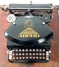 ►Antigua maquina de escribir ARCHO  rare typewriter  Schreibmaschine