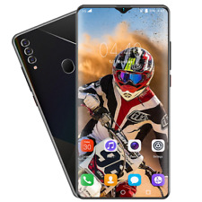 6.7 in Smartphone Dual SIM Android 10 with Face ID HD Camera 8+512 GB Cell Phone