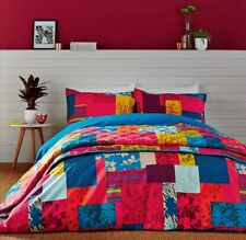 Clarissa Hulse Super King Size duvet cover with 2 pillowcases 100%Cotton RRP£170