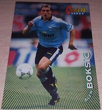CARD CALCIATORI PANINI 98 LAZIO BOKSIC CALCIO FOOTBALL SOCCER ALBUM
