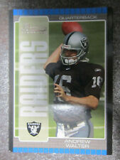 Andrew Walter #159 Topps Bowman Rookie 2005 American Football Trading Card (L2T)