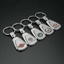 Auto Car Logo Metal Key Chains Pendant Holder Keyring for VW Skoda Nissan BMW