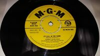 "TOMMY EDWARDS It's All In The Game/Please Love 1958 UK 7"" MGM Records 45-MGM 989"