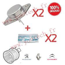 Kit de réparation Pulseur d'air: 2 transistors MJ11015 + 2 pattes thermique +++