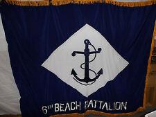 flag183 WW 2 US Navy  Flag 6th Beach Battalion