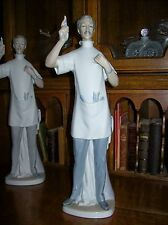 "Lladro Dentist Figurine~Retired~GLOSS FINISH~13.5""Tall~1971-1978~MINT~Great Gift"