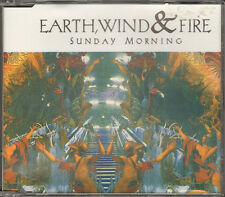 EARTH WIND & and FIRE 3 track NEW CD SINGLE Sunday Morning The L Word 1993