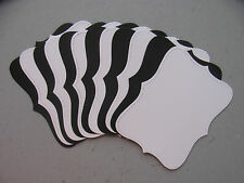 Stampin' Up! Whisper White/Basic Black Top Note Die Cuts 12