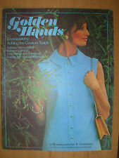 GOLDEN HANDS CRAFT MAGAZINE No 9 KNITTING CLASSY POLO NECK JERSEY -COUTURE TOUCH