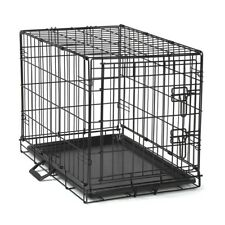 "Dog Training Crate Secure Wire Folding Cage for Dogs xLarge 48""L x 30""W x 33""H"