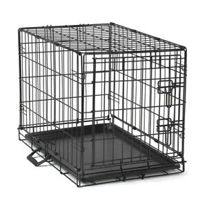 """Dog Training Crate For Dogs Foldable Wire Security Cage Large 42""""L x 28""""W x 31""""H"""