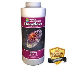 General Hydroponics FloraNova Bloom 1 Quart qt 32oz - gh flora nova nutrient -