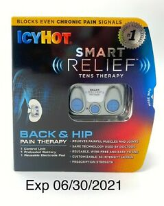 Icy Hot Smart Relief Tens Back & Hip Starter Kit Control Unit Collectible *READ*