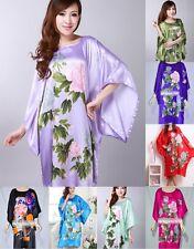 Nightwear Sleepwear Pyjama Geisha Oriental Kaftan Kimono Yukata Robe Night Dress