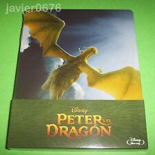 PETER Y EL DRAGON DISNEY BLU-RAY NUEVO Y PRECINTADO STEELBOOK