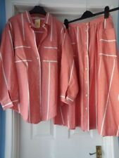 Skirt Striped Suits & Tailoring Matching Outfit for Women