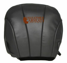 1999 2000 Chevy Express Work Truck Driver Bottom Vinyl Seat Cover Dark Gray