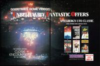 CLOSE ENCOUNTERS OF THE THIRD KIND__Original 1989 Trade print AD promo / poster