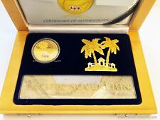 Fiji 2012 200 Dollars Pacific Sovereign Premium Edition 1oz Gold Coin
