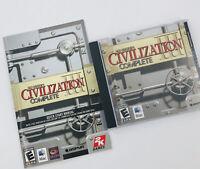 2005 Sid Meier's Civilization III Complete - Mac Dvd - Strategy Game Quick Start