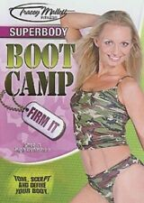 TRACEY MALLETT FITNESS SUPERBODY BOOT CAMP FIRM IT DVD TONING WORKOUT EXERCISE