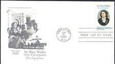 US CIVIL WAR SURGEON DR. MARY WALKER Stamp 2013 First Day Cover (H63)