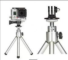 Free Tripod Monopod Mount Adapter For GoPro HD HERO 1 2 3 4 Camera Accs kc