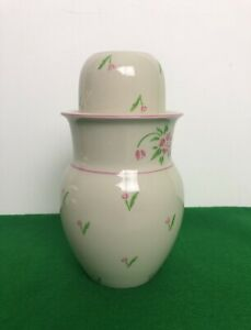 Water Vase With Cup For Bedside Table Nighttime Thirst Excellent Condition 20 Oz
