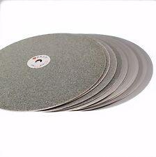 "3Pcs 14"" inch Grit 120 240 600 Diamond Grinding Disc Wheels Coated Flat Lap Disk"