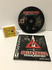 Delta Force Urban Warfare ( Sony Playstation) Disc And Manual CLEAN TESTED
