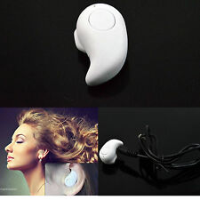 White Mini Wireless Bluetooth Stereo Headset Headphone For Apple iPhone 6 Note 4