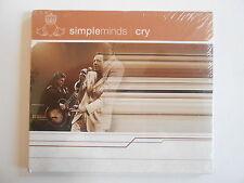 SIMPLE MINDS : CRY - LEAD THE BLIND - HOMOSAPIEN ... [ CD PROMO ] ~ PORT GRATUIT