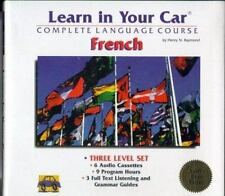 LEARN How to Speak FRENCH Language  - 3 Level Set - Cassettes/Guides - New!