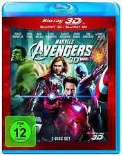 THE AVENGERS (Blu-ray 3D + Blu-ray Disc) NEU+OVP
