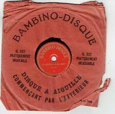 78T 15cm Pygmo Disque CHEVALIER DU GUET -SAVEZ-VOUS PLANTER LES CHOUX -BAMBINO 3
