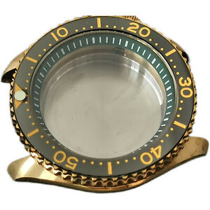 Aluminum Bronze Diving watch Case Replacement For NH36A/NH35A Automatic Movement