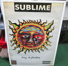 Sublime Rare New Never Opened Poster 2011 Vintage Bradley Nowell 40 Oz Freedom