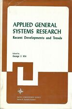 APPLIED GENERAL SYSTEMS RESEARCH- RECENT DEVELOPMENTS AND TRENDS/ GEORGE J. KLIR