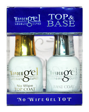 Soak Off Gel Duo Set No Wipe Top Coat & Base Coat ALL BRANDS