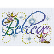 SALE - SAVE 30%  FAIRIES BELIEVE CROSS STITCH KIT by DESIGN WORKS