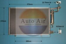 Fit with FORD FIESTA Condenser air conditioning 16-1397 1.6L