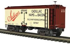 20-94377 MTH/Premier 36' Woodsided Reefer Car - Sullivan's Packing, 3 Rail 0