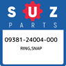 09381-24004-000 Suzuki Ring,snap 0938124004000, New Genuine OEM Part