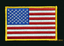 "XL 4 X"" JACKET USA FLAG PATCH BATTLE FLAG US ARMY MARINES NAVY AIR FORCE USCG"