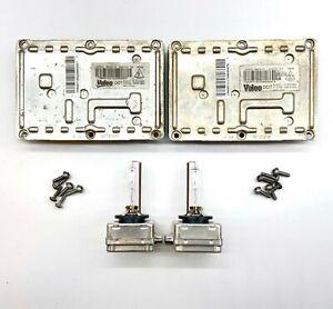 2x OEM 03-05 Audi A4 S4 Xenon HID Ballast Bulb Kit Control Unit Module Computer