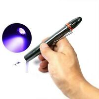 LED Strong UV Torch For curing the resin Fly Fishing UV Torch R8O9