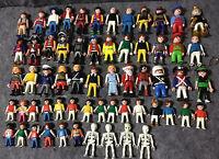 Huge Playmobil Figures + Carry Case + Accessories Lot