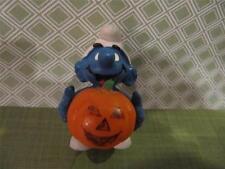 Smurf 20136 halloween Pumpkin jack'o'lantern 1981 vintage original Peyo smurfs